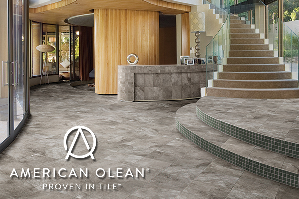 Breegle Abbey Carpet & Floor. Give your home a fresh new look from American Olean™.