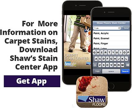 Carpet Stain Center | Anso nylon | Shaw Floors