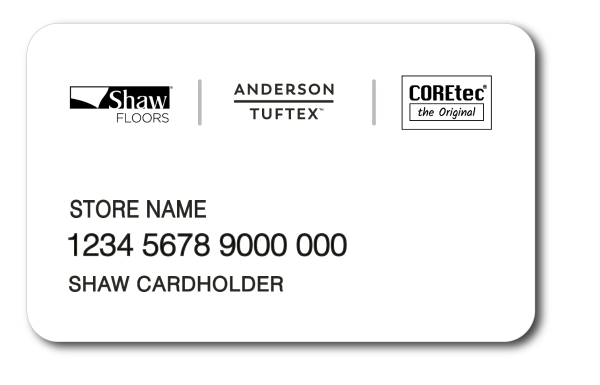 Shaw Card - a credit card with budget flexibility. Your Shaw Card brings you: revolving line of credit, special financing, convenient monthly payments, easy online account management,